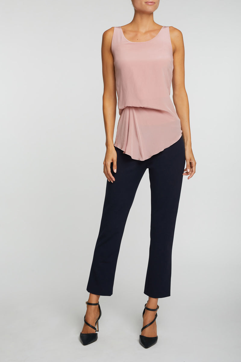 The Luzzara Top - Rose