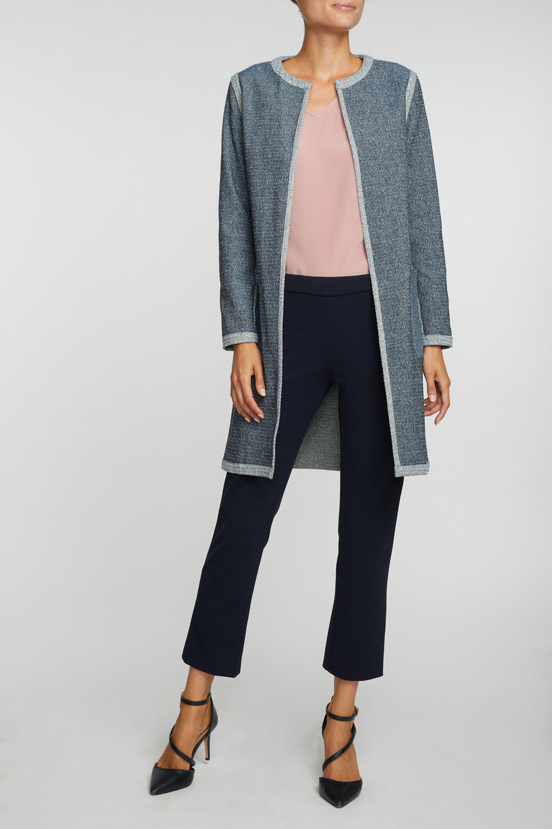 The Eden Reversible Duster - Gold & Blue
