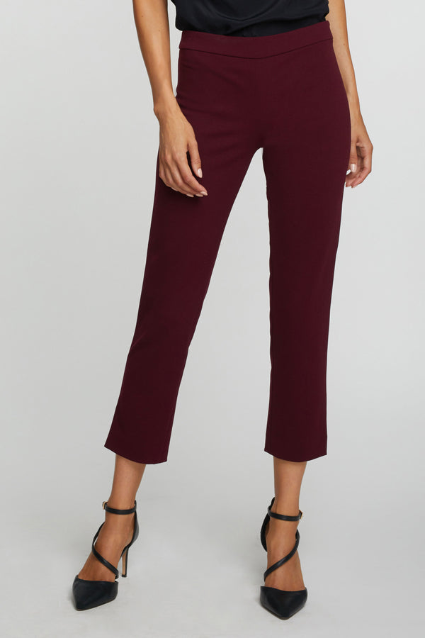 The Laura Pants- Merlot Red