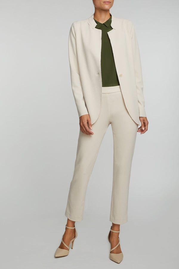 The Laura Blazer- Cream