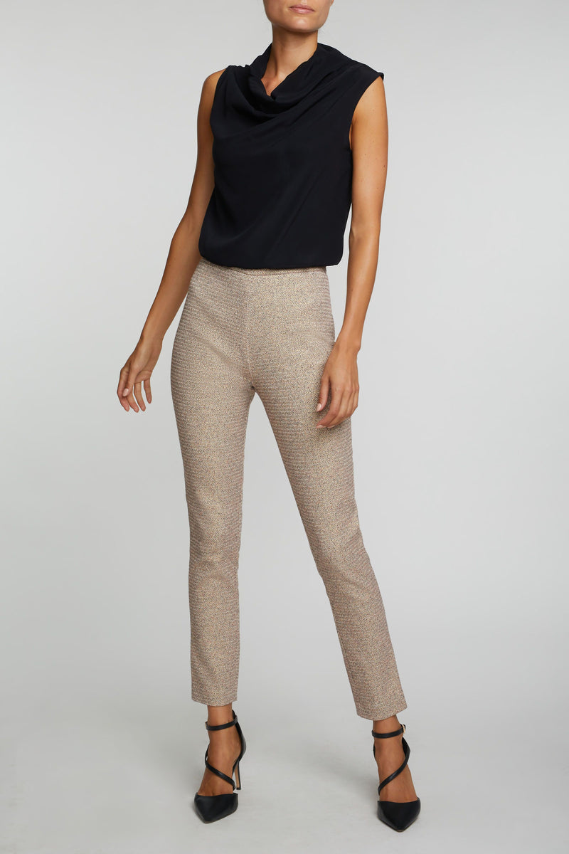 The Sisley Pants - Gold & Red