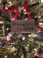 Christmas Tiny signs