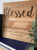 Blessed- Proverbs 31