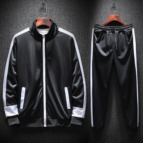 Outdoor Riding Polyester Slim Men's Sports Suit