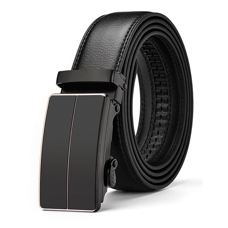 Automatic Buckle Line  Business Men's Belts