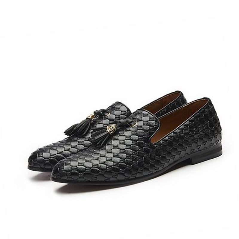New Comfortable Men's Tassel Loafer Shoes