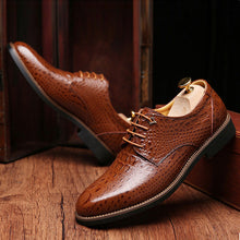 Men's Business Leather Oxford Dress Shoes