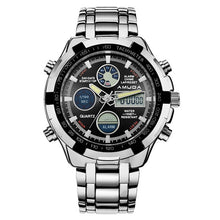 Luxury Brand Dual Time Quartz-watch Fashion Men Sports Watches