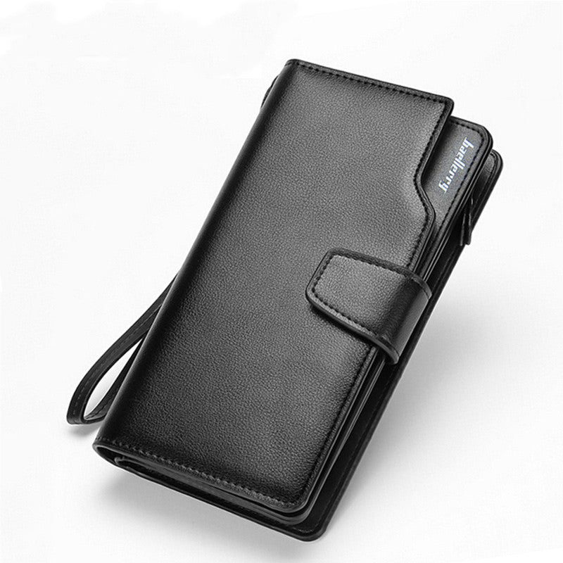 2018 New Casual Long Design Leather Wallet