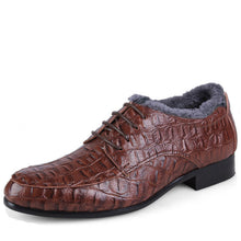 Big Size Genuine Leather Oxford Shoes