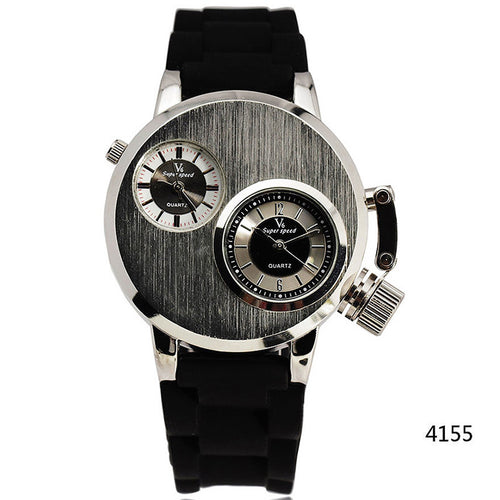 Fashion Dual Quartz Men Wristwatches