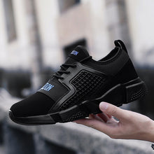 Breathable Lace Up Trainer Walking Outdoor Men's Sneakers