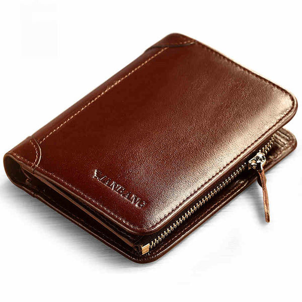 New Men's High Quality Genuine Leather Wallet