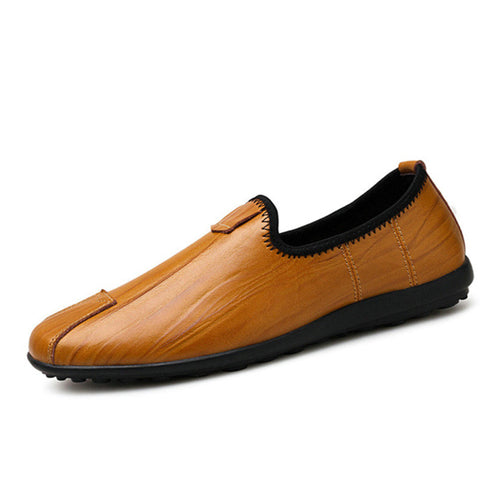 Men's Handmade Moccasins Soft Genuine Leather Loafers Shoes