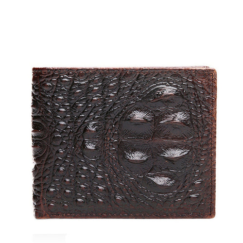 100% TOP Cow Genuine Leather Men's Wallets