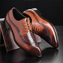 2018 Luxury Fashion Oxford Men Dress Shoes