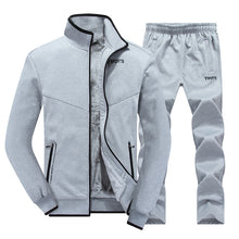 Cold Simple Running With Cashmere Men's Sports Suit