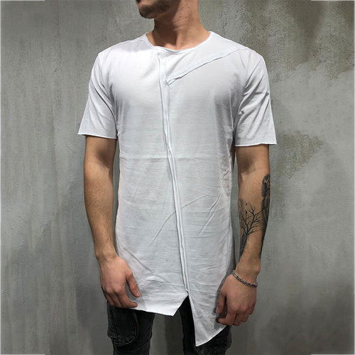 Recreational Collar With Short Sleeves Men's T-shirt