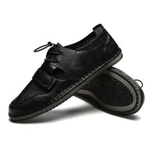 Breathable Leisure Tie Thin Bottom Men's Boat Shoes