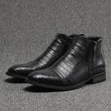Brand Fashion Handsome Comfortable Leather Boots