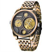 Luxury Full Steel Golden Antique Military Watch