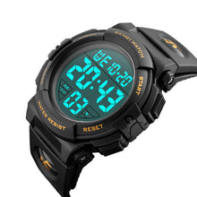 Digital LED Waterproof Sports Men's Military Army Watch
