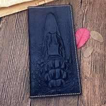 Animal Crocro  Long Section Men's Wallets