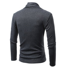 Baitao Pure Color Knitting Leisure Men's Sweatshirt