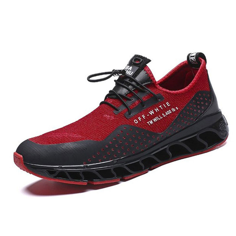 Breathable Waterproof Massage Men's Sneakers