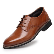 Genuine Leather Oxford Men's Business Dress Wedding Shoes