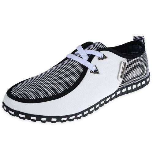 Fashion Men Casual Leather Slip On Loafers