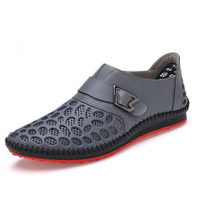Luxury Brand Summer Breathing Casual Genuine Leather Men Shoes