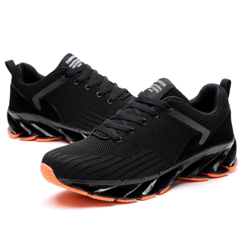 Breathable Damping Plain Men's Sneakers