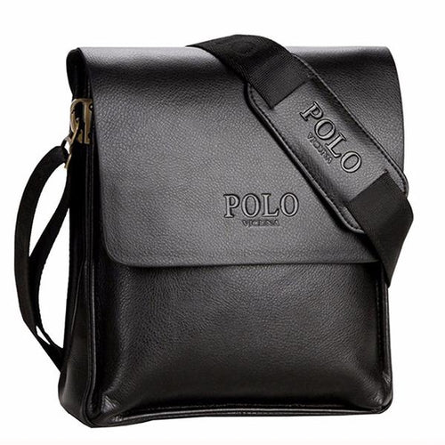 Men's Casual Leather Business Messenger Bag
