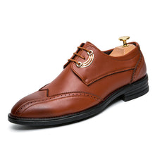 Breathable Comfortable Point Toe Men's Oxfords