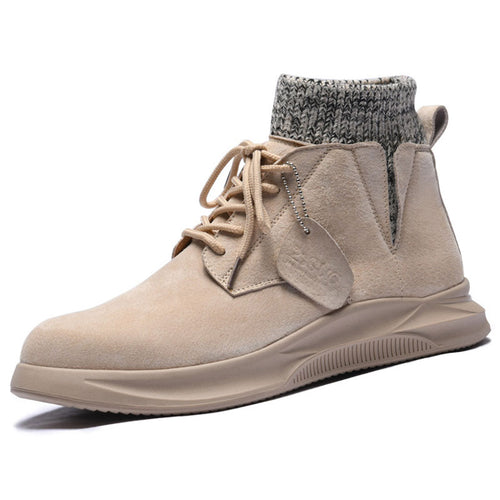 Soft Comfortable Increase Men's Boots