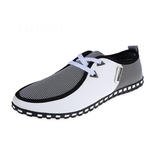 Fashion Men Casual Loafers Slip On Driving Shoes