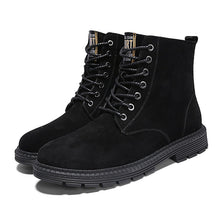 Antislip Waterproof Breathable Men's Leather Boots