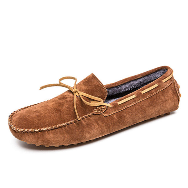 Breathable Waterproof Warm Men's Boat Shoes