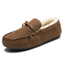 Antislip Wear Resistant Warm Men's Boat Shoes