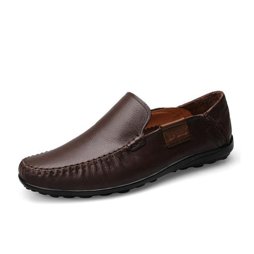 Genuine Leather Moccasins Loafers Men's Shoes