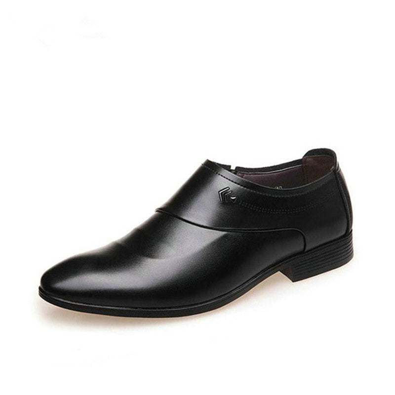 2018 New Men Business Leather Shoes