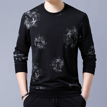 Long Sleeve Leisure Collar Printed Men's Sweatshirts