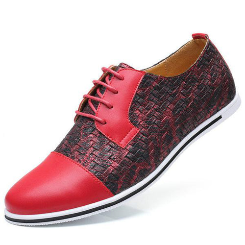 Hot Sale New Breathable Lace-Up Men's Shoes