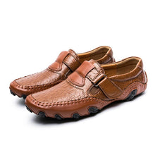 Fashion British Style Genuine Leather High Quality Men Outdoor Shoes