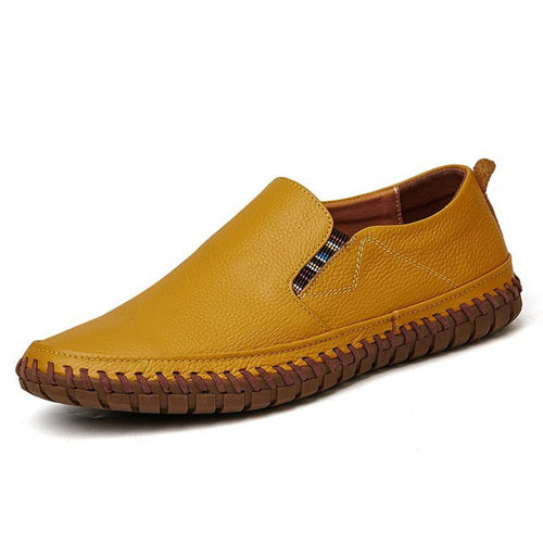 Big Size Men Genuine Leather Loafers Shoes