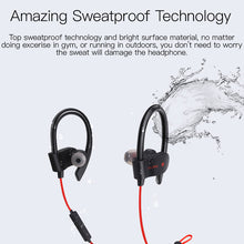 HIFI Stereo Sports Sweatproof Bluetooth Headphone With MIC