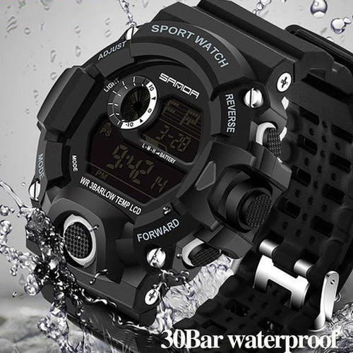 Men's Sport LED Digital Watches