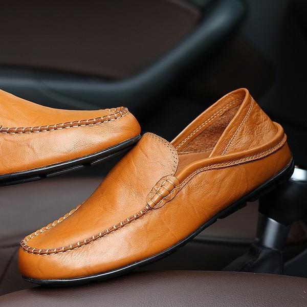 Genuine Leather Comfortable Casual Shoes
