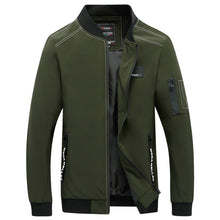 Baseball Outdoor Collar Zipper Men's Jacket